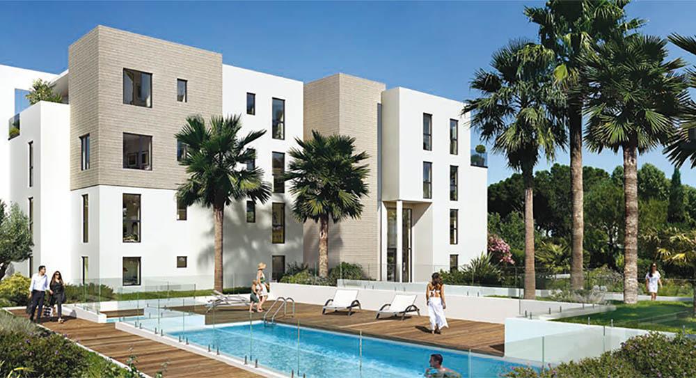 Lägenhet i Antibes till salu