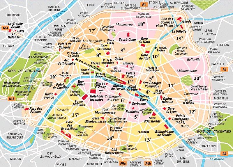 Lägenhetspriser i Paris