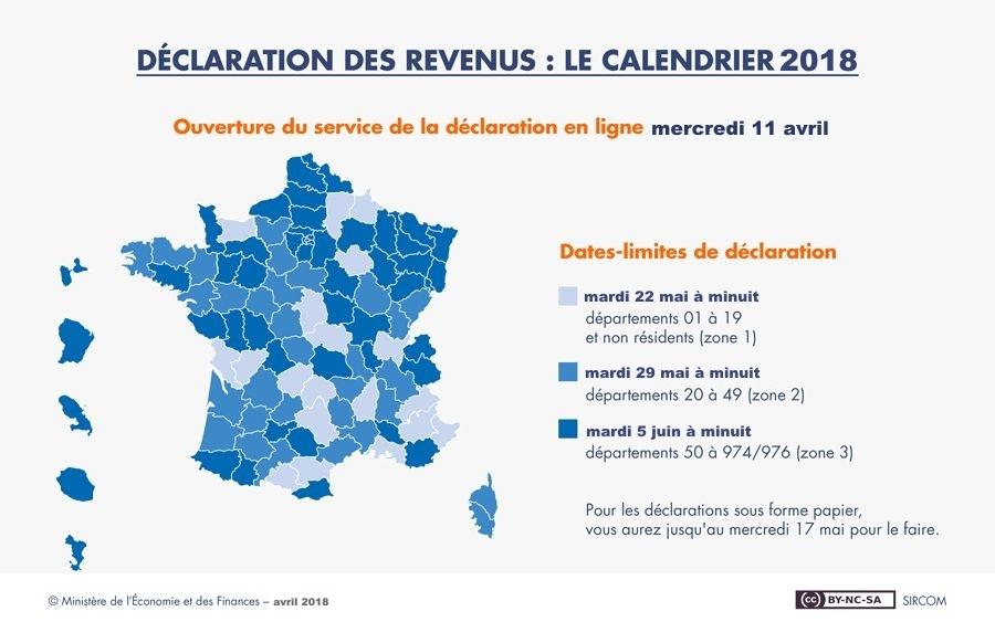Deklarationsdag i Frankrike