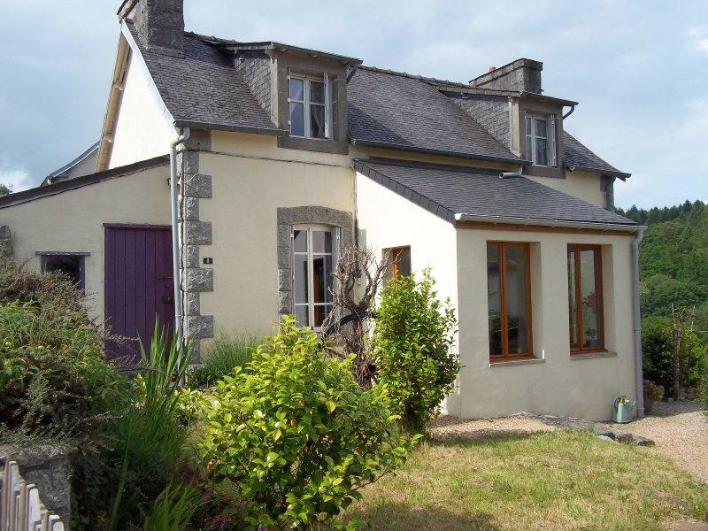 Hus till salu i Finistère, Bretagne Huelgoat
