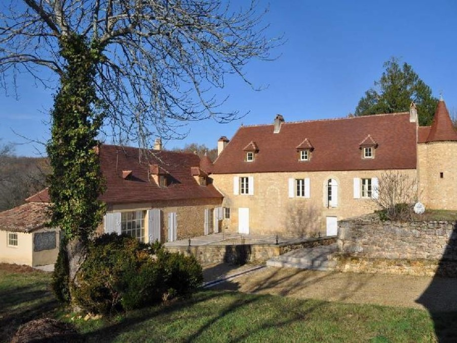 Lalinde Manoir till salu. Fantastiskt hus säljes i Dordogne