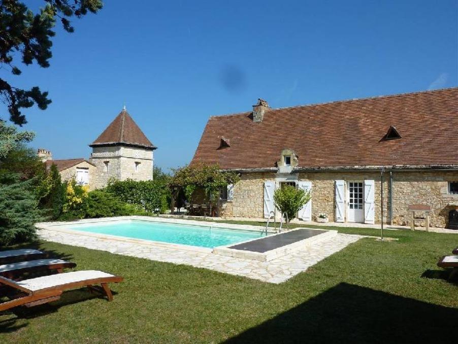 Daglan Hus med pool till salu - Dordogne, Périgord noir